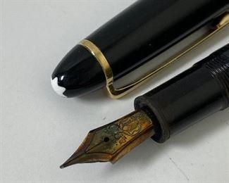 vintage Montblanc Meisterstuck fountain pen