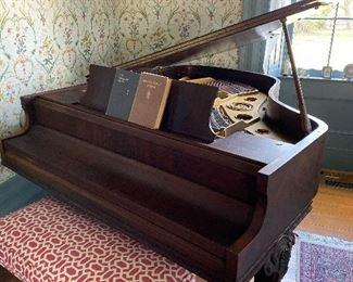 "Wm. Knabe & Co. grand piano (56.5"" x 64"")"