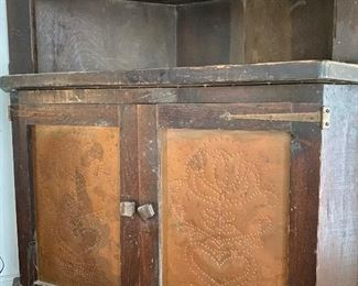 punched copper panels