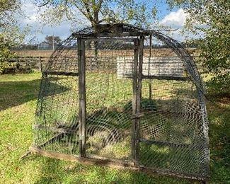 portable chicken coop/chicken tractor