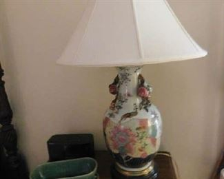 Gorgeous Oriental Lamp