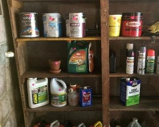 Lawn and garden chemicals