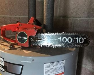 "Craftsman 10"" chainsaw"