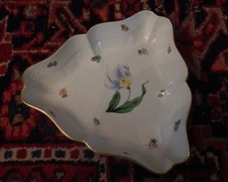 Herend china.  There are several pieces of Herend china.