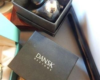Dansk candle holders x two.
