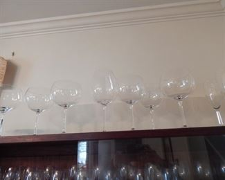 Wine glasses and more.