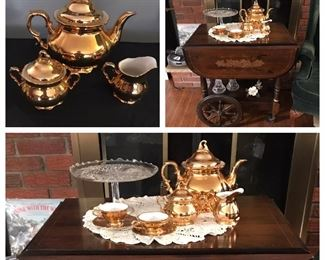 Bavarian tea set