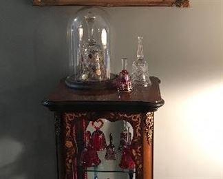 Curio cabinet, pictures