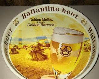 Ballantine beer tray