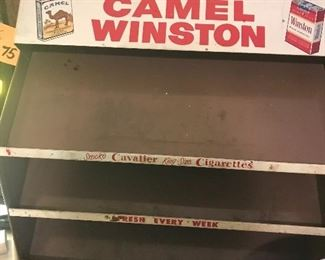 Display case-Camel/Winston
