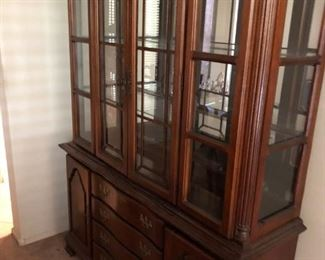 China Hutch in Dining Room\
