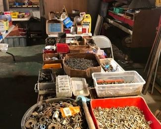 Hardware - Nails, Screws, Washers, Nuts, Bolts