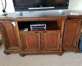 Beautiful Entertainment Buffet. Flat screen for sale also. Bose sound system.
