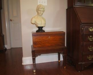 """Beautiful cherry chest   22""""x 13""""x 24 tall   (Not included in Half Price Saturday but will negotiate)"""