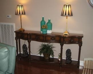 "Hooker Sofa table   72""x 12"" x 34-1/2 tall"