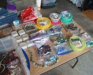 More Jewelry making supplies - 40 boxes....