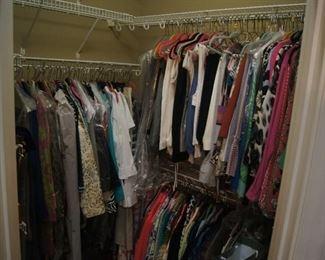 Clothing items Size range 14