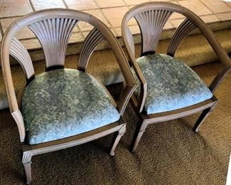 PFL008 Pair of Wooden Chairs