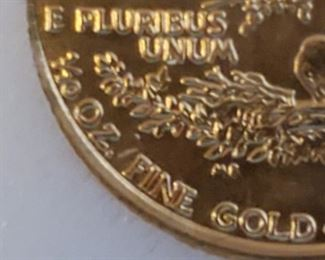 Gold Coins are all 1/10 Oz 999 Pure Gold.  Dates are different.  I have a total of 28 of these coins to sell