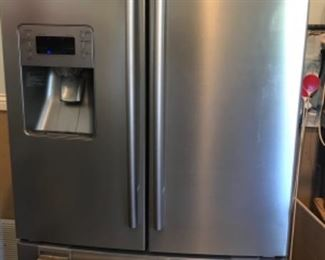 Samsung French door refrigerator