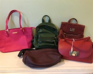 Hand bags including Coach, fossil, Lucky