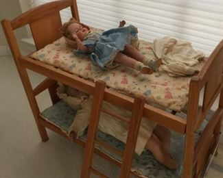 twin bunk beds for dolls