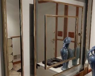 NOW THIS MID CENTURY MIRROR IS ABSOLUTELY AMAZING!