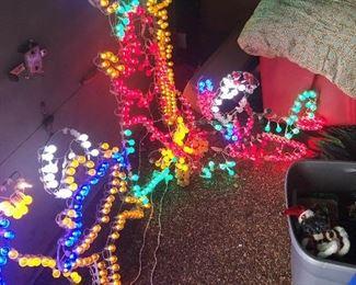 lighted Nativity $30