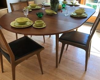 Made in Sweden on bottom of table (has good bones)