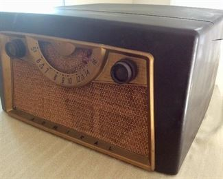 Admiral Record Player & Radio