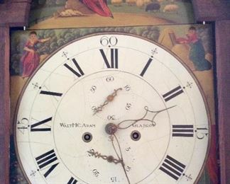 Antique Scottish Grandfather Clock