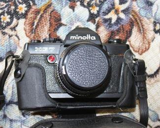 Minolta XG7 Camera