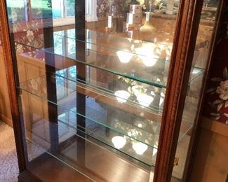 One Of My Faves...This Amazing Side Load Lighted Curio...Just waiting For You To Fill!...