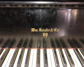 Wm. Knabe & Co  Concert Grand Piano Chicago Opera