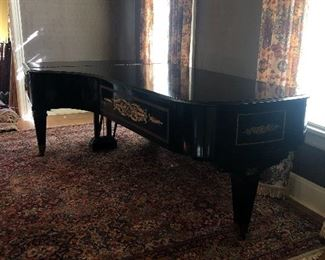 Concert Grand Piano  by William Knabe and Company  Vintage 1950's  Provenance Chicago Opera