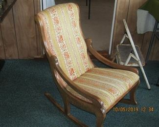 Antique rocking chair. In excellent condition.
