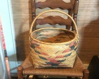 Choctaw baskets