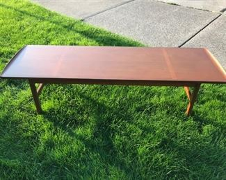 MCM Long Board Coffee Table. Solid Walnut wood