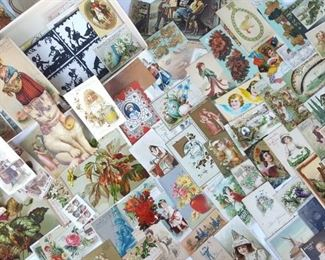 LOADS OF TRADE AND POSTCARDS