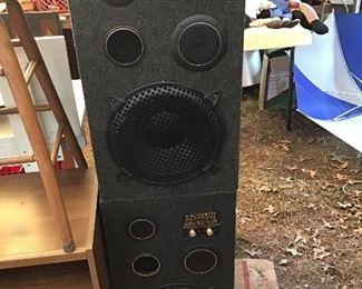 Pair of Speakers (Acoustic Response 707 - 3 Way)