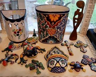 Talavera Mexican Pieces