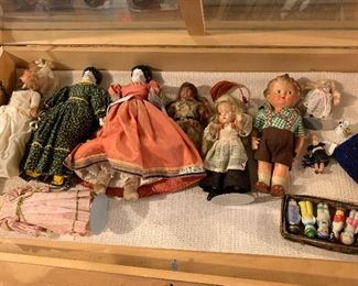 Antique china dolls, Japan dolls