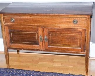 1. Antique Southern Walnut Sideboard