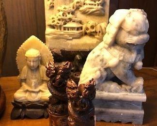 Asian Stone Carvings