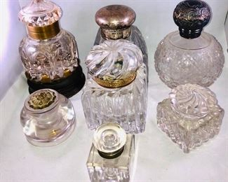 Crystal Inkwells from Collection
