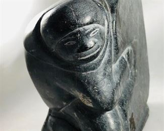 Inuit Sculpture by Joshua Joe