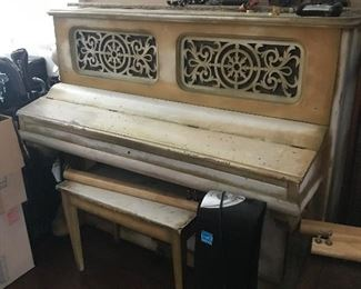 Hardman upright piano.