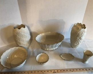 Lennox Vases and Display Bowls