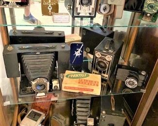 Dozens of Vintage Cameras