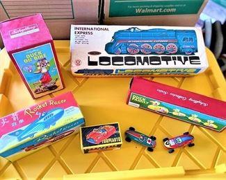 Vintage Wind Up Toys